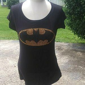 Hot Topic Tops - Batman rhinestone shirt